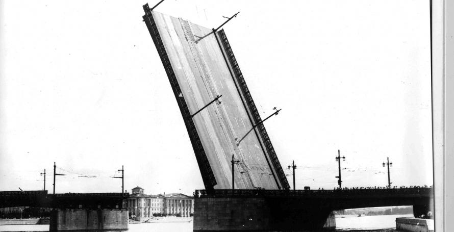 Разводка Литейного моста