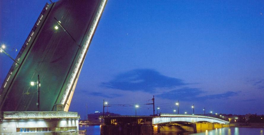 Современный вид Литейного моста