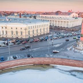 Набережная Стрелки Васильевского острова