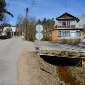 1-й мост на Балтийском пр.