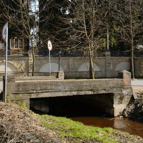 Мост на ул. Парковой