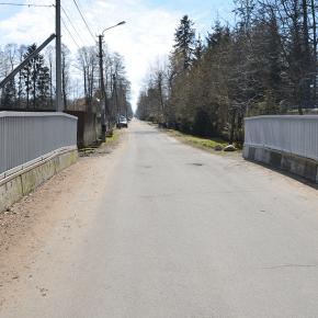 Мост на ул. Морской