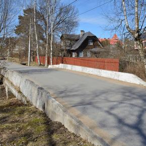 Мост на ул. Межевой