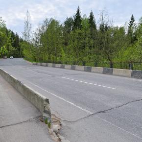 Мост в пос. Песочный
