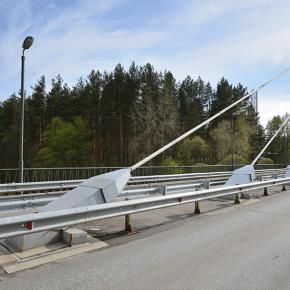 Мост по дороге к санаторию «Белые ночи»