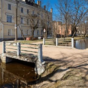 Мост на ул. Самсониевской