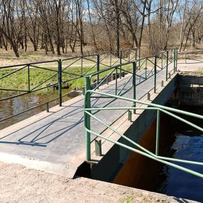 Мост в Луговом парке