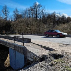 Мост в деревне Попово