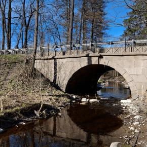 Мост на Волхонском шоссе №1