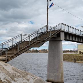 Мост по Шлиссельбургскому шоссе