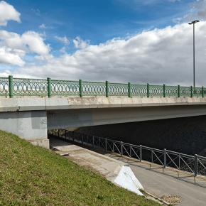 Мост через р. Кузьминку