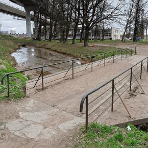 Мост по пр. Обуховской обороны д.130, литер Г4