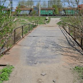 Мост у рынка «Юнона»