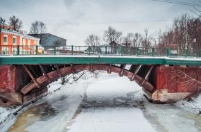 2-й Лаврский мост через Монастырку