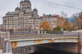 Карповский мост через Карповку