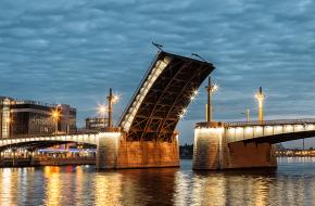 Кантемировский мост через Большую Невку
