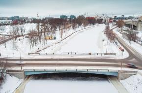 Мост Красного Курсанта через Ждановку