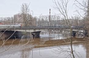 Мост Шаумяна через Охту