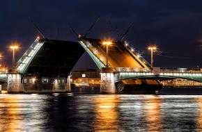 Сампсониевский мост через Большую Невку