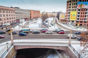 Уральский мост через Смоленку