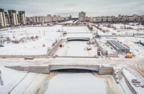 3-й Смоленский мост через Смоленку