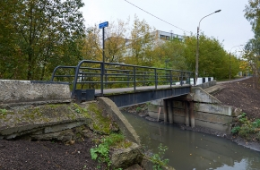 3-й Волковский мост через Волковку