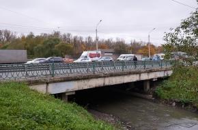 Алмазный мост через Волковку