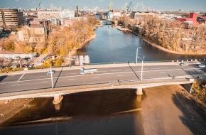 Гутуевский мост через Екатерингофку