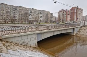 Мост Дыбенко через Оккервиль