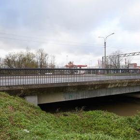 Мост в створе Московского шоссе