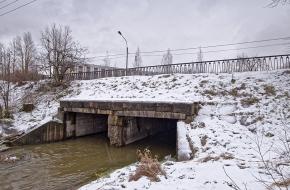 Мост по Дачной улице через Дудергофку