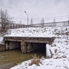 Мост по Дачной улице
