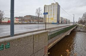 Мост Энергетиков через Охту