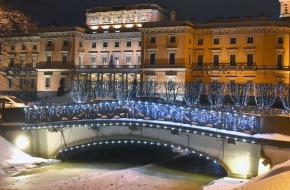 Нижний Лебяжий мост через Лебяжью канавку