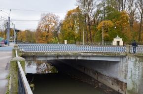 Старообрядческий мост через Волковку