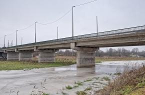 Челябинский мост   через Охту
