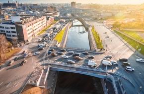 Каретный мост через Обводный канал