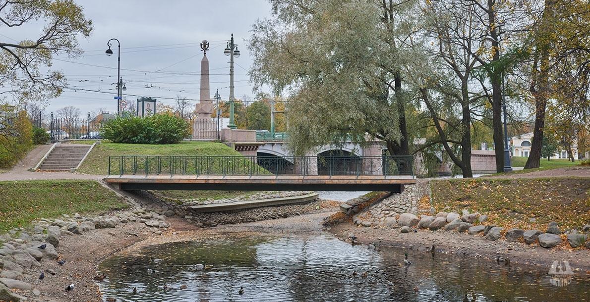 Мост у павильона Каменноостровского моста