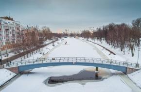 4-й Ждановский мост через Ждановку