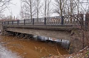 Андреевский мост через Лубью