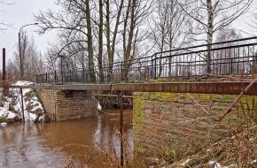 Камышинский мост через Лубью