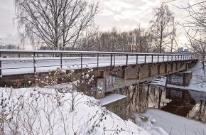 Малый Ильинский мост через Лубью