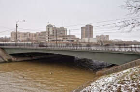 Мост Партизана Германа через Дудергофский канал