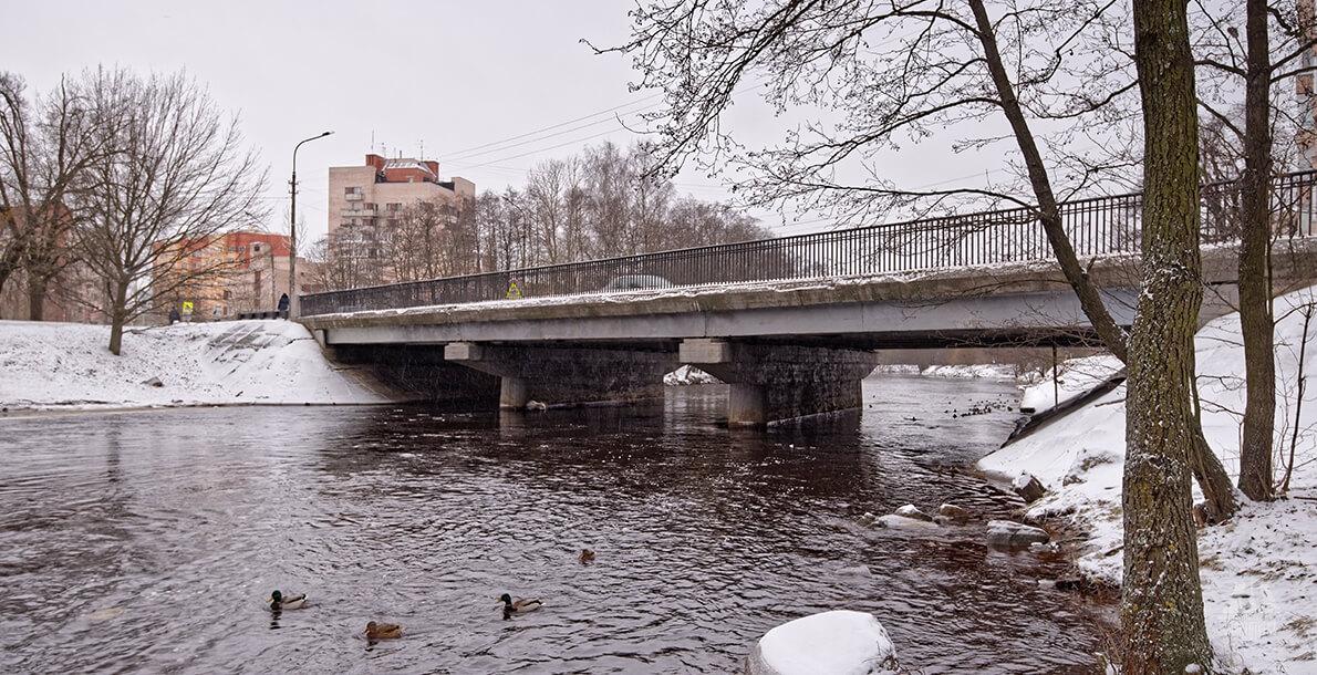 Литейный мост в Сестрорецке