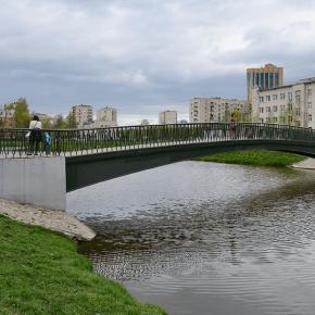 Мост в квартале №7 «Ульянка»