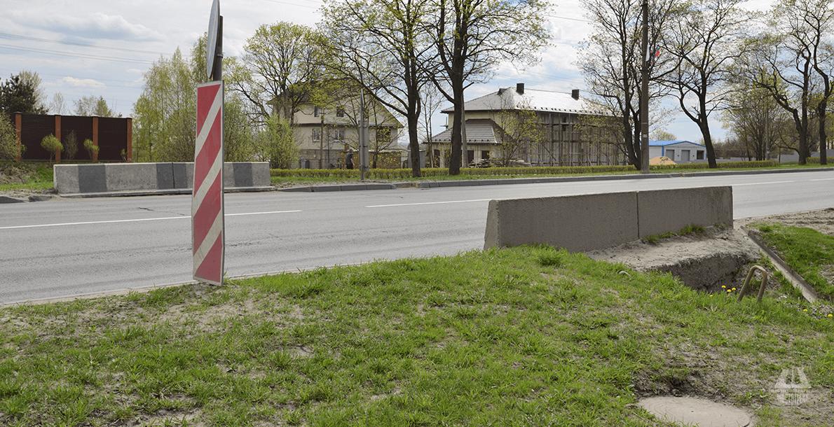 На 13 км Таллинского шоссе