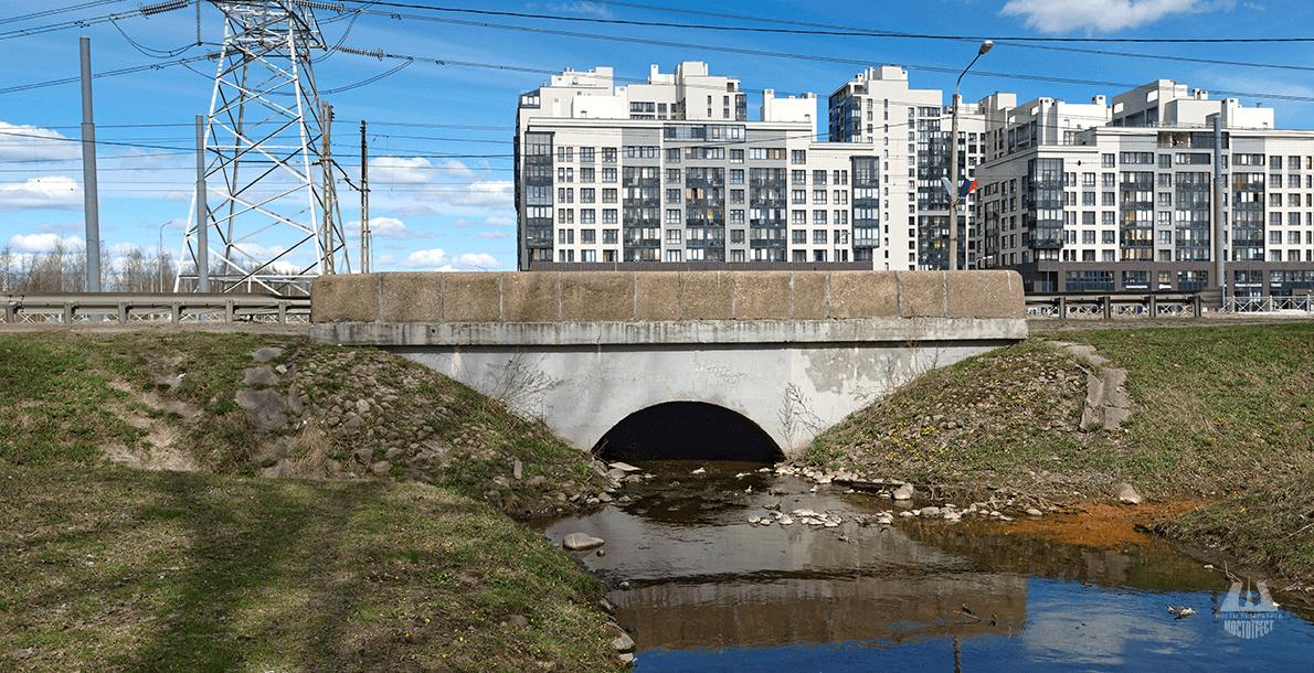 Мост на 16 км Петергофского шоссе