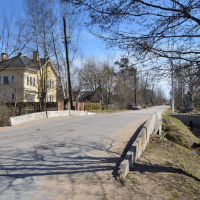 2-й мост на Балтийском пр.