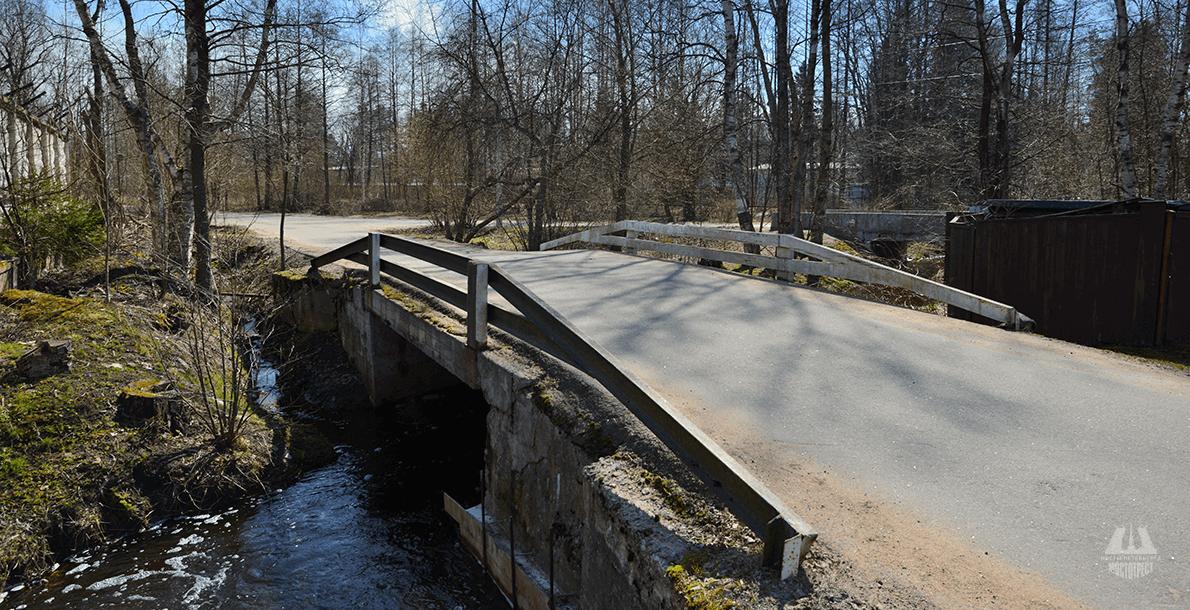 Мост на Глухариной ул.