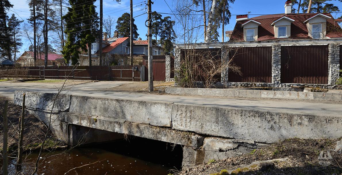 Мост на ул. Петровской